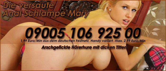 3 Exklusiver Arschfick Telefonsex mit GangBang Luder Mary