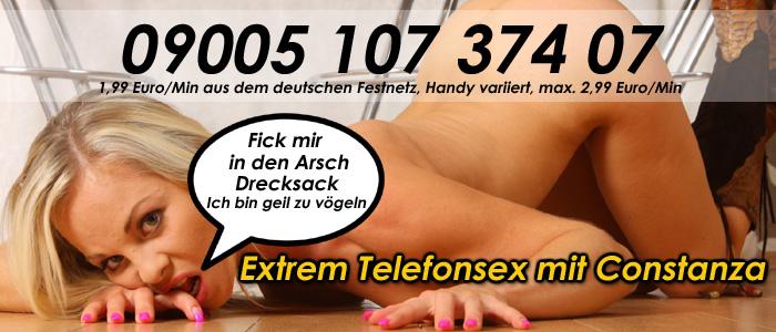9 Extrem Telefonsex mit Constanze - So wird Gewichst