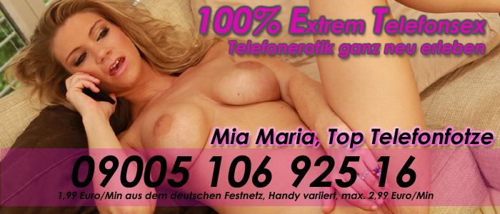 5 Mia Maria, Top Telefonfotze im Netz